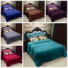Kyпить Sumptuous Light Winter Blanket Soft Throw 6 Solid Colors Throw Queen Sizes на еВаy.соm