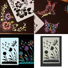 10pc Animal Reusable Face Paint Stencil Body Tattoo Makeup Painting V0i4
