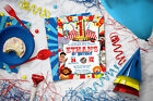 Circus Party Invitations - Printable or Printed - Personalized with your info