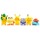 Pokemon Picachu Figures Toys Display Cake Toppers Kids Party Ash
