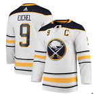 Jack Eichel Buffalo Sabres Away Authentic Player Jersey White Blue