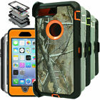 For iPhone SE 2 (2nd Generation) Camo Case W/ Clip (Clip Fits Otterbox Defender)