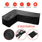 L Shape Garden Rattan Outdoor Furniture Sofa Cover Patio Table Protection Uk