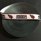 "7/8"" Arizona Cardinals Grosgrain Ribbon by the Yard (USA SELLER!) $6.49 USD on eBay"