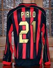 AC Milan Rossoneri 2006-07 Home Shirt Long Sleeves