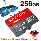 64GB 128GB 256GB Micro Memory Card Class10 Fast Flash TF Camera&Phone&Car