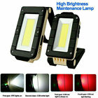 Rechargeable Magnetic COB LED Work Light Lamp Folding Inspection Torch CarRep uD