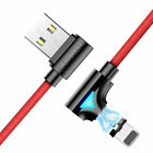 FLOVEM 3A LED Magnetic Type C Adapter USB Charger Cable For Samsung US