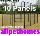 10 PANEL 1500mm High, FULLY GALVANISED, EXERCISE PEN DOG PUP RUN ENCLOSURE