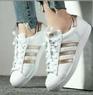 ADIDAS ORIGINALS SUPERSTAR CG5463 WHITE METALLIC COPPER ROSE GOLD WOMEN'S SHOES