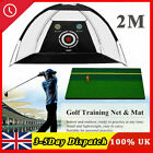 Professional 2M Golf Practice Driving Hit Net Cage Training   Out/Indoor