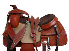 CUSTOM MADE WESTERN SADDLE ROPING ROPER RANCH TOOLED LEATHER HORSE TACK 17 16