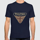 Lucky Brand Triumph Motorcycle UK T-shirt Funny Vintage Gift Men Women $16.1 USD on eBay