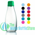 ReTap Bottle 17oz Borosilicate Drinking Glass Reusable Medium Water Bottle New