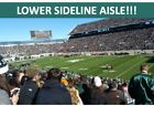 2 MICHIGAN STATE SPARTANS 2020 FOOTBALL SEASON TICKETS - LOWER SIDELINE AISLE!