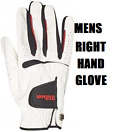 Wilson Feel Plus Golf Glove Mens RIGHT Hand glove For LEFT Handed Golfers - New
