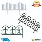 Garden Border Fence Landscaping Edge Picket Plastic Wall Panel Traditional Lawn