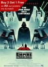 Star Wars The Empire Strikes Back 40th Anniversary 2020 Poster A5 A4 A3 A2 A1 £12.99 GBP on eBay
