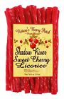 Shadow River Gourmet Sweet Cherry Licorice - Old Fashioned Red Candy Twists