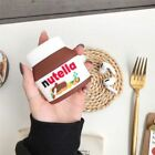Nutella Airpods Case Chocolate 3D Cover Protection
