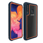 For Samsung Galaxy A20S A20 Shockproof Hard Case With Kickstand Belt Clip Cover