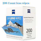 Zeiss 1200 200 400 600 Pre-moistened Lens Cleaning Wipes Eyeglasses Camera Phone