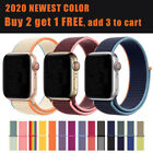 2020 NEW Colors Woven Nylon Band For Apple Watch Loop iWatch Series 5/4/3/2/1 image