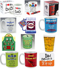 Fathers Day Gifts Best Dad Daddy birthday Present Papa Glass Tin Coaster Mug