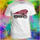 New Indian Father Dad Motorbike Cafe Racer Motorcycle Hot Rod Vintage T-Shirt