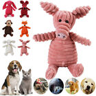 Pet Dog Cat Puppy Chew Toy Squeaker Squeaky Soft Plush Play Sound Teeth Doll UK