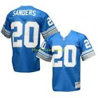 BARRY SANDERS Detroit LIONS Blue MITCHELL & NESS Throwback LEGACY Jersey S-XXL $179.99 USD on eBay
