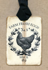 Hang Tags FARM FRESH EGGS CHICKEN TAGS or MAGNET 225 Gift Tags