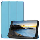For Samsung Galaxy Tab A 8.0 2019 SM-T290 Leather Smart Stand Slim Case Cover