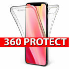 360 Protective Gel Front & Back Case for the new Apple iPhone 11 Pro Max, X, Xr
