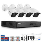 SANNCE H.264+ 4CH DVR Outdoor CCTV 1080P 2MP Video Security Camera System Onvif