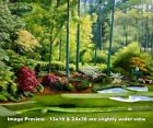 Augusta National Golf Club Masters Tournament Hole 12 Golden Bell golf Art 2550