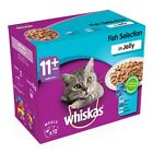 Whiskas 11+ Senior Cat Food Selection Packs | Cats