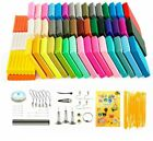 Soft Clay 50 Colors DIY Toys Air Dry Polymer Plasticine Safe Craft Oven Bake image