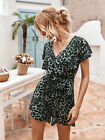 Women Summer Holiday Mini Playsuits Ladies Beachwear Shorts Sundress Jumpsuits