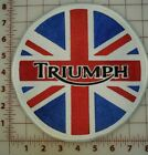 """Embroidered Triumph British Flag Patches 8"""" Lrg. & 3.5"""" Small Sizes $24.95 USD on eBay"""