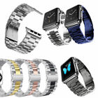 For Apple Watch Series 5/43/2/1 Stainless Steel Wrist iWatch Band Strap Bracelet image