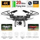 Drone x Pro Foldable Quadcopter 4K 1080P Camera| WiFi FPV GPS 3D RC 6-axis 2020