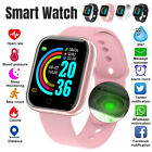 Waterproof Bluetooth Smart Watch Women Gifts Heart Rate Bracelet For IOS Android image