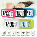Fashion Digital LED Alarm Clock Snooze Backlight Time Calendar Thermometer Top