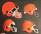 NFL CLEVELAND BROWNS Football **NEW** Logo Iron on Patch *Choice* $3.99 USD on eBay