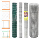 Chicken Fence Roll Metal Galvanised Wire Garden Fence/Cage /Fencing/Mesh Border