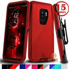 For Samsung Galaxy S9 / S9  Plus Case Cover  Belt Clip Fits Otterbox Defender