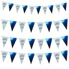 ROSE GOLD OR BLUE HAPPY BIRTHDAY BUNTING GARLAND BANNER DECORATIONS GIRLS BOYS