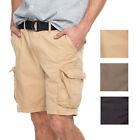 Внешний вид - New Sonoma Mens Big & Tall Modern Slim Fit Lightweight Twill Belted Cargo Shorts