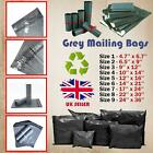 Grey Mailing Bags Strong Poly Postal Postage Self Seal Post Mail All Sizes Cheap